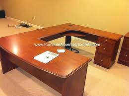 Realspace Office Furniture by Office Depot Realspace U Shaped Desk Assembled In Washington Dc By