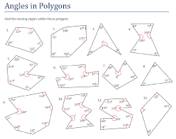 Regular Pentagon Interior Angles Angles And Polygons Miss Brookes Maths