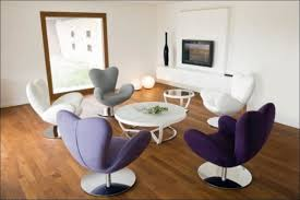 Colorful Chairs For Living Room Furniture Purple White And Grey Colors Of Swivel Chairs That