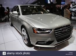 new shiny car showroom luxury expensive audi stock photo royalty