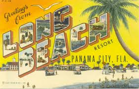 panama city postcards