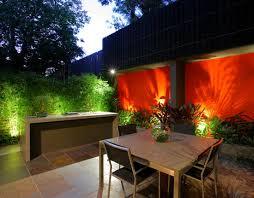 Patio Lighting Design Small Courtyard Garden Lighting Design For The Home Pinterest