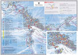 Map Of La Area Maps U0026 Piste Maps Of Val D U0027isere Valdinet Com