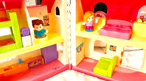Fisher Price Doll House Furniture Fisher Price Little People Surprise U0026 Sounds Home Youtube