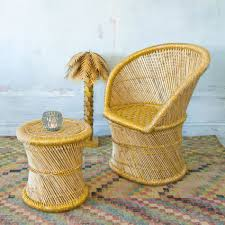 bamboo chair bamboo chair and stool in gold outdoors graham green