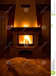 cozy warm fireplace royalty free stock photography image 4602867