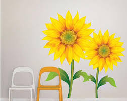 New Sunflower Wall Decor Wall Art and Wall Decoration Ideas