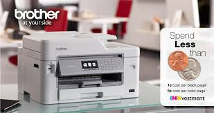 brother inkvestment color all in one printers at office depot