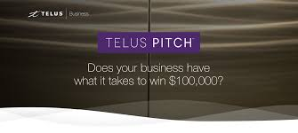 telus pitch small business grant contest