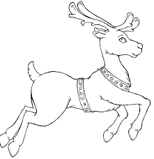 reindeer free coloring pages art coloring pages