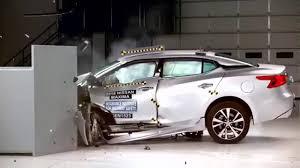 nissan maxima youtube video 2016 nissan maxima crash test awesome video youtube
