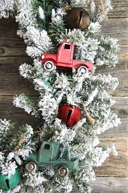 vintage truck christmas wreath a pretty life in the suburbs
