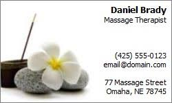 Massage Therapy Business Cards Massage Therapy Business Cards Spa Pictures