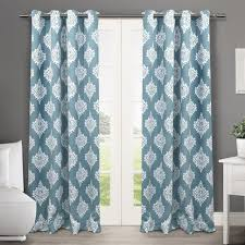 Teal Eyelet Blackout Curtains Coffee Tables Blackout Fabric Michaels Diy Blackout Curtains