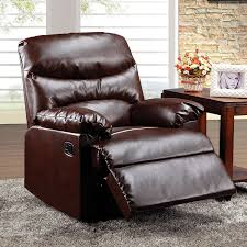 Brown Leather Recliner Chair Entrancing 70 Modern Chair And A Half Recliner Design Decoration