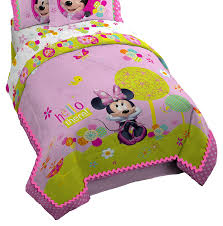 Disney Store Comforter Amazon Com Disney Minnie Mouse Rock The Dots Twin Full Reversible
