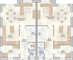Doppelhaus Doppelhaus Bauen In Hamburg Mit Je über 110 M Grundriss Blohm Gmbh