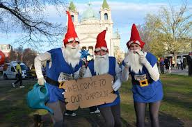 Lawn Gnome Halloween Costume Garden Gnome Race Costumes