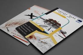2 panel brochure template publisher best agenda templates