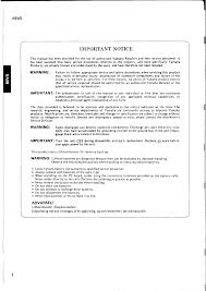 yamaha rev 5 service manual documents