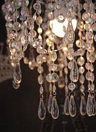 acrylic chandelier 12in