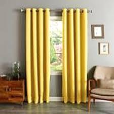 amazon com circo yellow chevron light blocking window curtain