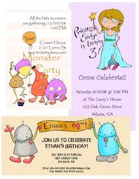sample party invitation template best template collection