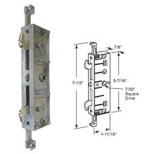 Patio Door Mortise Lock Replacement Gordon Glass Four Point Patio Door Mortise Lock Door Lock