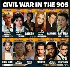 Bench Warmers Cast If Captain America Civil War Was Made In The 90s Marvelous