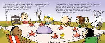 a brown thanksgiving book by charles m schulz