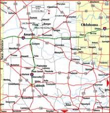 map ok panhandle the panhandle west west