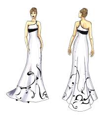 design a wedding dress laser cut wedding dress and vest 10 steps with pictures