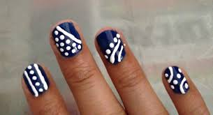 best simple nail art designs at home for beginners pictures