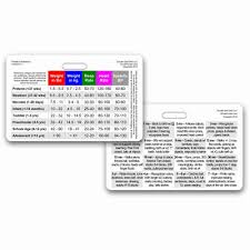 amazon com lab values horizontal badge id card pocket reference