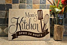 9x12 mom u0027s kitchen sign mom tile mothers day gift pinned by