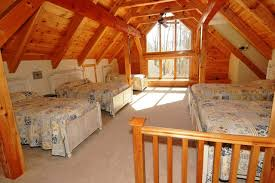 Timber Frame Bed Timber Frame Traditional Bedroom Raleigh By Daves