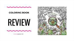 Little Lupe Compilation - die welt unter der lupe zu lande coloring book review rita