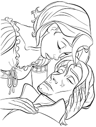 10 images of baby repunzel disney princess coloring pages