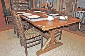 repurposed dining table dining table made at hip and humble from repurposed materials