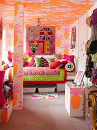 tropical colors for home interior 17 ideas make girls bedroom dweef com bright and attractive