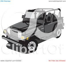 cartoon jeep side view jeep top view clip art blank background search cliparts images