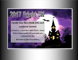 2017 halloween fright k 5k at st cloud lakefront news 96 5