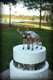 buck and doe wedding cake topper deer wedding cake