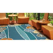 Teal Outdoor Rug Nautical Rugs Coastal Area Rugs Beach Themed Rugs