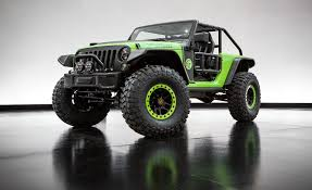 jeep motor jeep trailcat is the 707 hp hellcat powered wrangler from hell