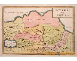 Russian Map Image Ancient Russia Seberia Old Map Cellarius1796 Jpg Ancient