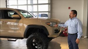 toyota tacoma road for sale our general sales manager tom ochoa showing the 2017 toyota tacoma