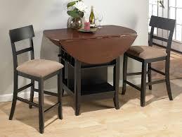 bar stools glossy bay window dining room small kitchen island