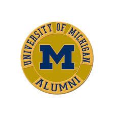 alumni pin wincraft of michigan alumni lapel pin