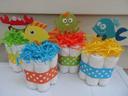 the sea baby shower decorations 4 the sea theme mini cakes baby by diapercake4less